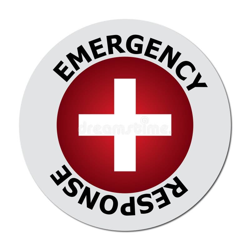 Emergency response royalty free illustration