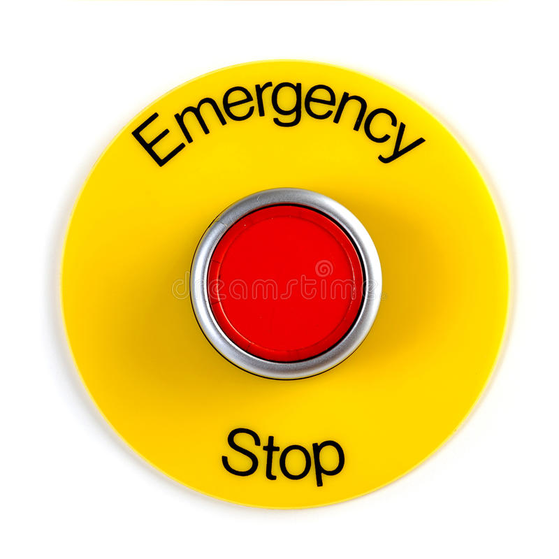 Download Emergency Stop stock image. Image of mechanical, stop - 27726951