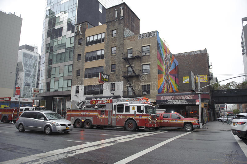 Download Emergency Truck On The Street Editorial Image - Image: 27581405
