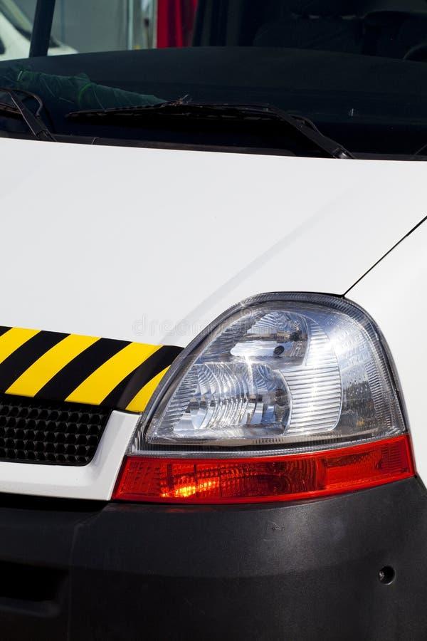 Emergency vehicle stock image