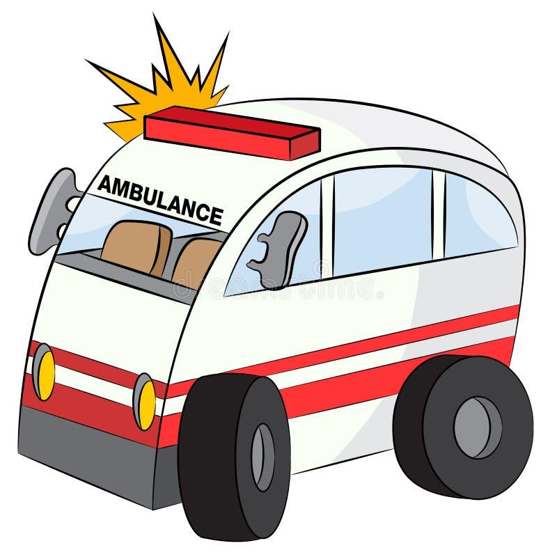 Emergency Vehicle royalty free illustration
