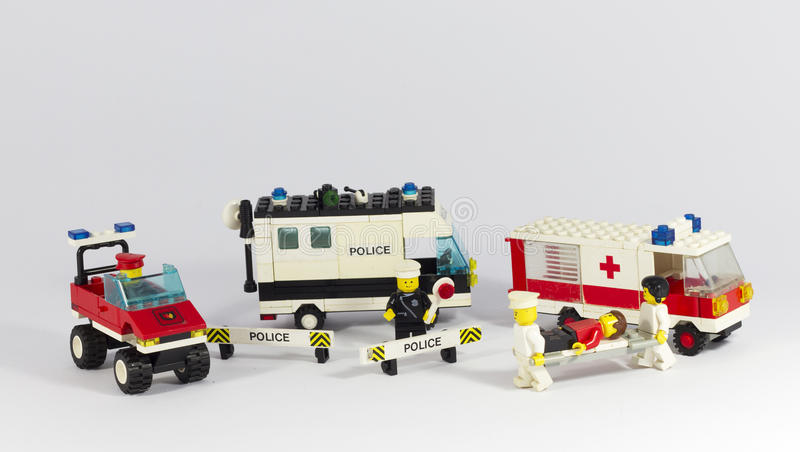 Emergency vehicles royalty free stock image