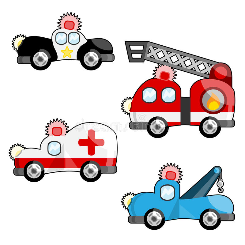 Download Emergency vehicles vector stock vector. Illustration of graphic - 10325389