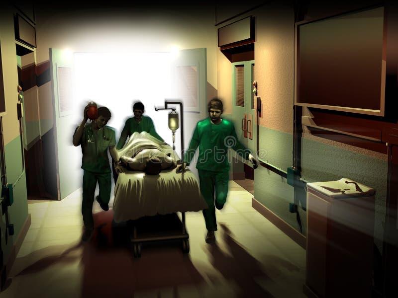 Emergenza medica royalty illustrazione gratis