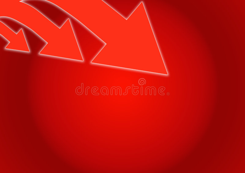Download Emerging arrows stock illustration. Illustration of abstract - 6449529