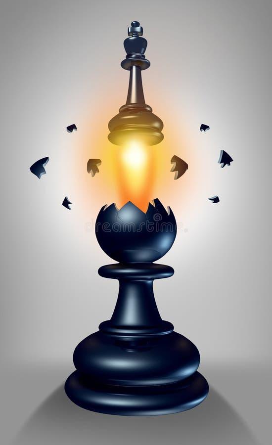 Download Emerging Leadership stock illustration. Image of blast - 30456847