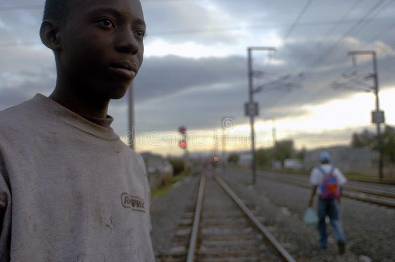 Emigrante do Honduran fotografia de stock royalty free