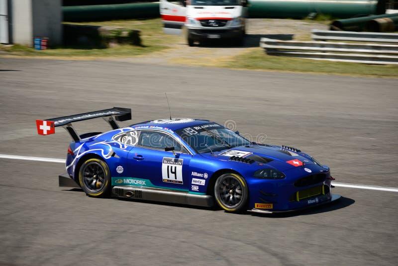 Emil Frey Jaguar G3 V8 przy Monza zdjęcie royalty free