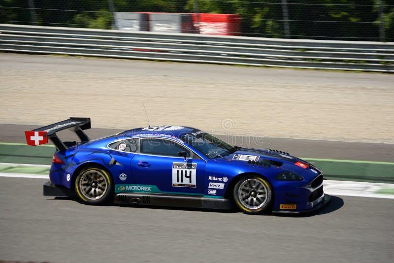 Emil Frey Jaguar G3 V8 przy Monza obrazy stock
