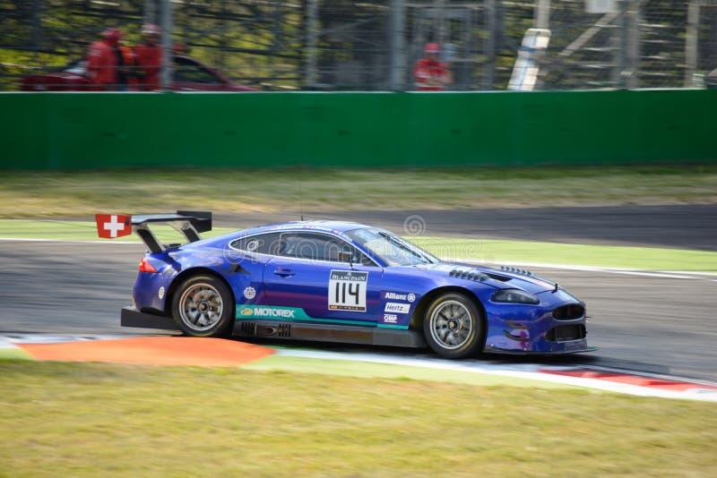 Emil Frey Jaguar G3 V8 przy Monza zdjęcia royalty free