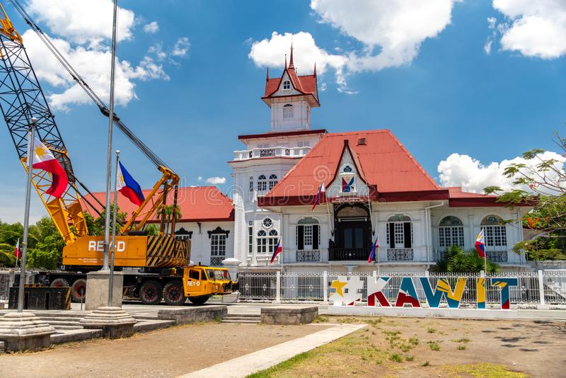 Emilio Aguinaldo Shrine dans Kawit, Cavite, Philippines photos stock