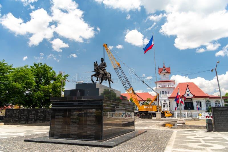 Emilio Aguinaldo Shrine in Kawit, Cavite, Filippijnen royalty-vrije stock afbeeldingen