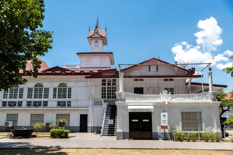 Emilio Aguinaldo Shrine in Kawit, Cavite, Filippijnen stock afbeeldingen