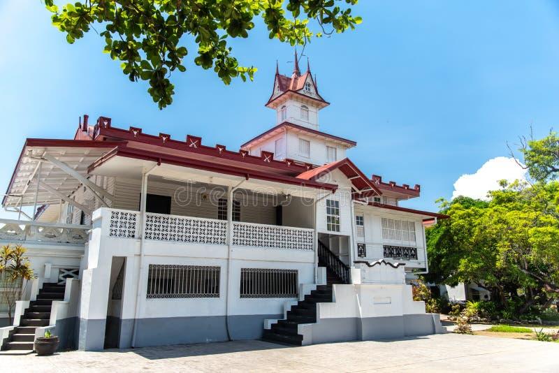 Emilio Aguinaldo Shrine in Kawit, Cavite, Filippijnen stock afbeelding
