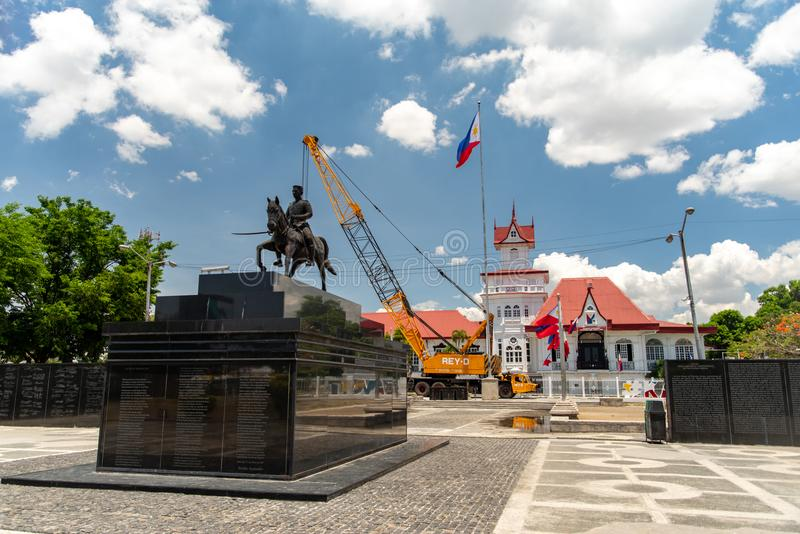 Emilio Aguinaldo Shrine in Kawit, Cavite, Filippine immagine stock