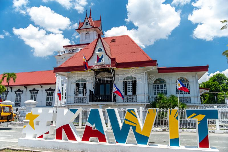 Emilio Aguinaldo Shrine in Kawit, Cavite, Filippine fotografie stock libere da diritti