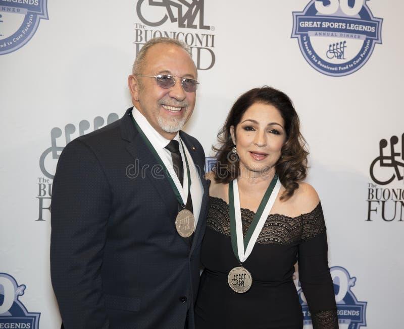 Emilio Estefan et Gloria Estefan photographie stock