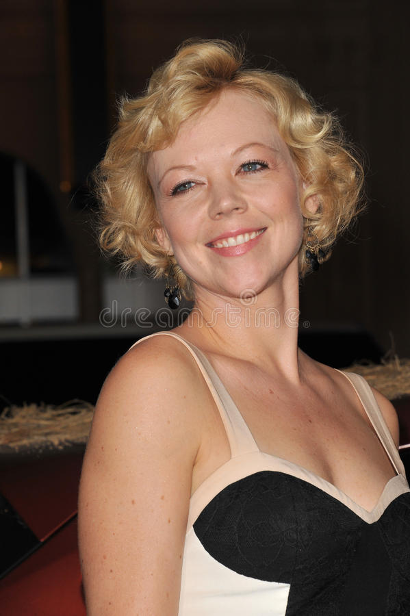 Download Emily Bergl editorial stock photo. Image of angeles, paul - 26491388