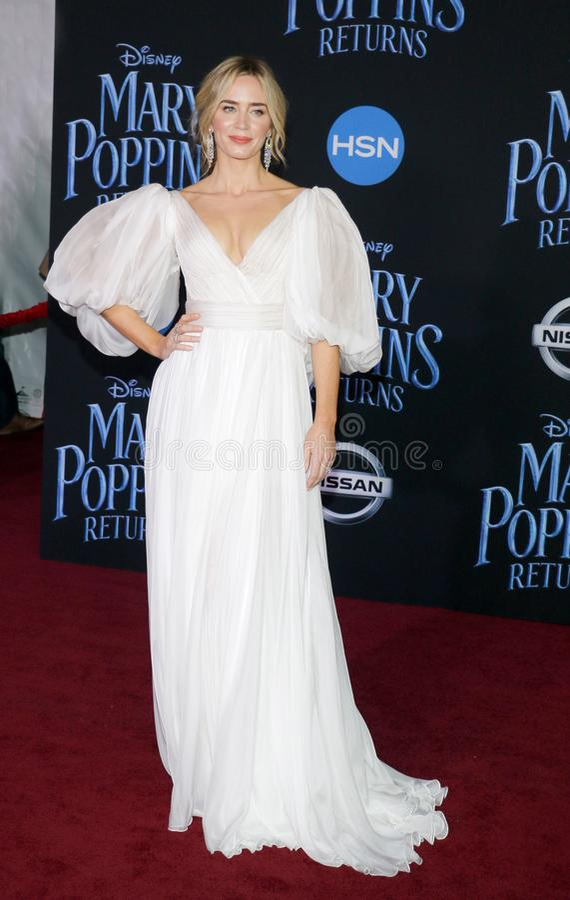 Emily Blunt royalty-vrije stock afbeelding