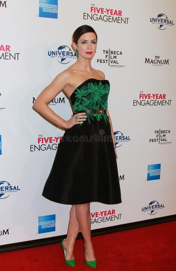 Emily Blunt royalty-vrije stock foto's