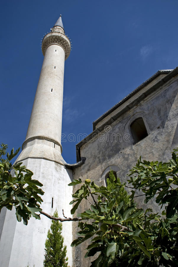 Emin Pasha Mosque, Prizren, Kosovo photographie stock libre de droits