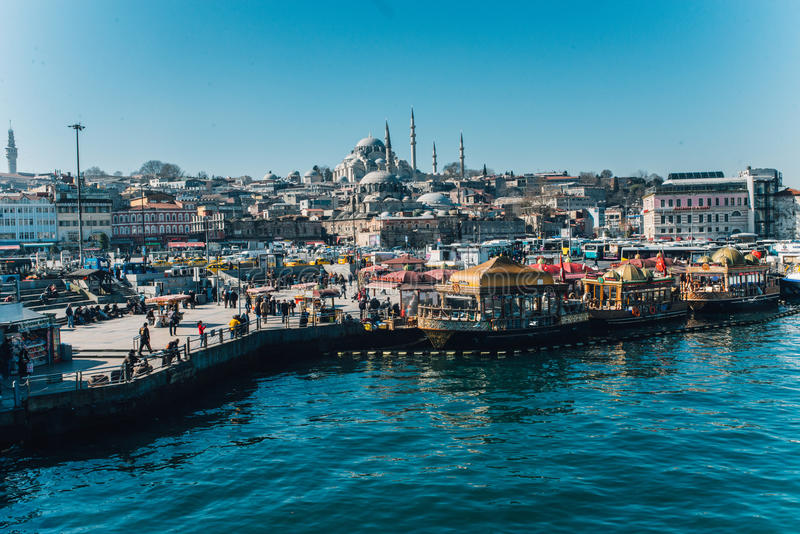 Eminonu, Istambul foto de stock