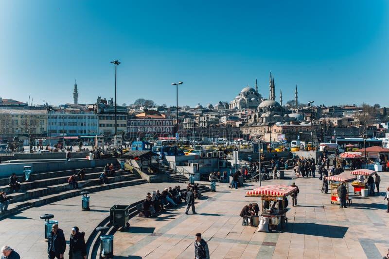 Eminonu, Istambul imagens de stock