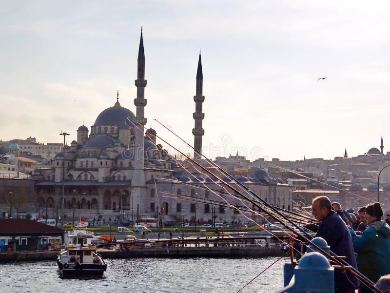 Eminonu - Istanbul stock image