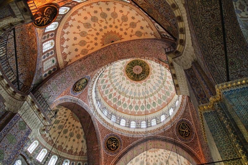 Download Eminonu, New Mosque dome stock photo. Image of interior - 21881118