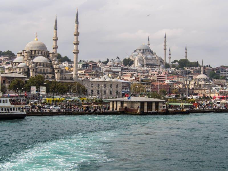 Eminonu w Istanbuł, Turcja fotografia stock