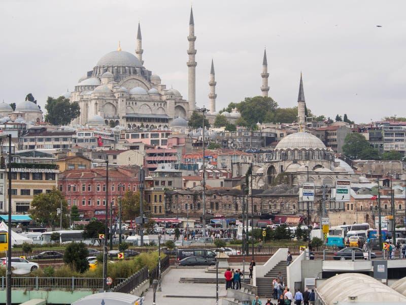 Eminonu w Istanbuł, Turcja zdjęcia royalty free