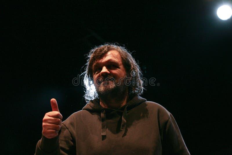 Emir Kusturica στοκ εικόνα με δικαίωμα ελεύθερης χρήσης
