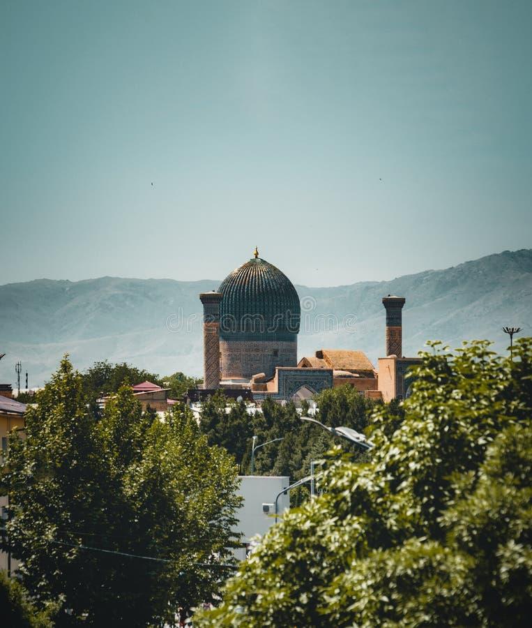emira mauzoleum Samarkand, Uzbekistan fotografia royalty free