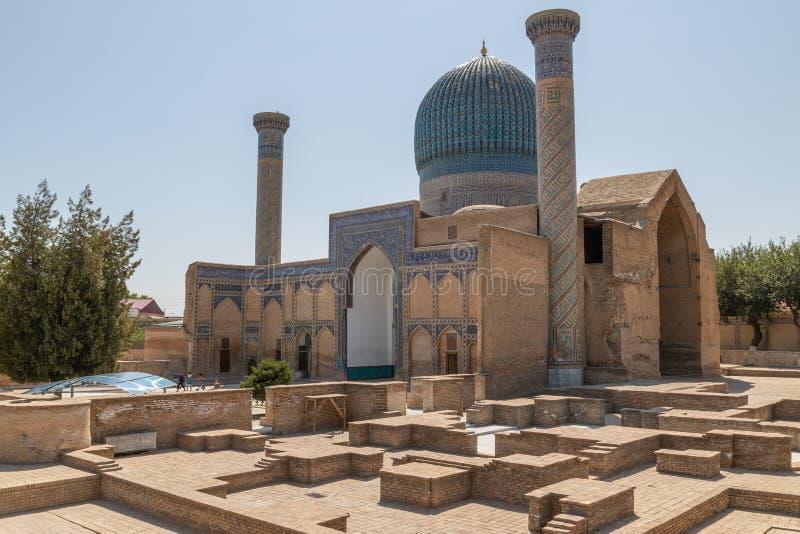 emira mauzoleum w Samarkand, Uzbekistan obrazy royalty free