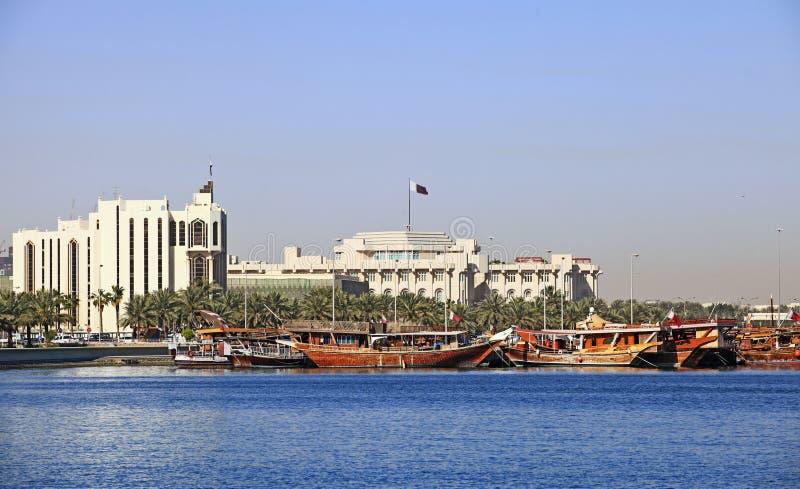 emira pałac Qatar s zdjęcie stock