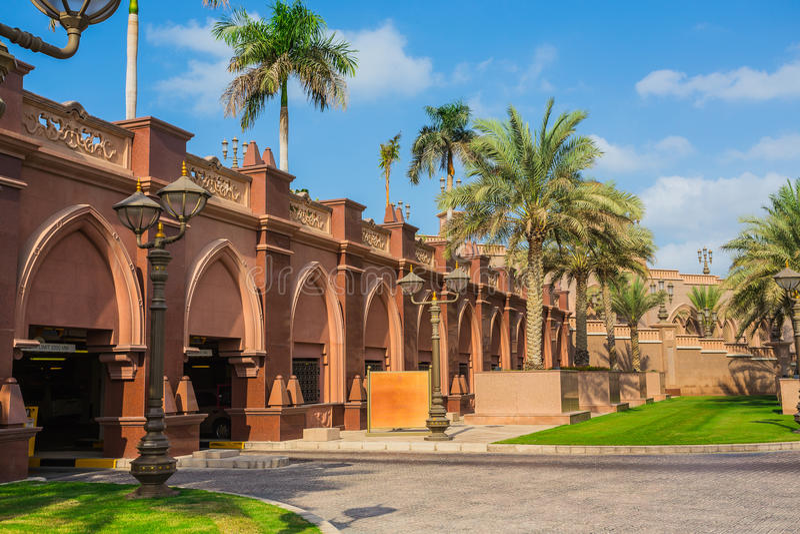 Emirat-Palast in Abu Dhab stockfoto