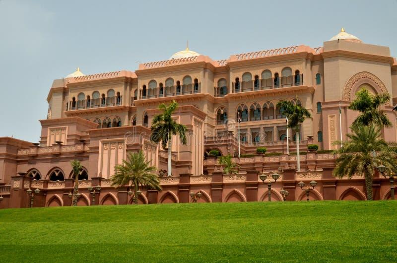 Emirat-Palast, Abu Shabi, UAE stockbild