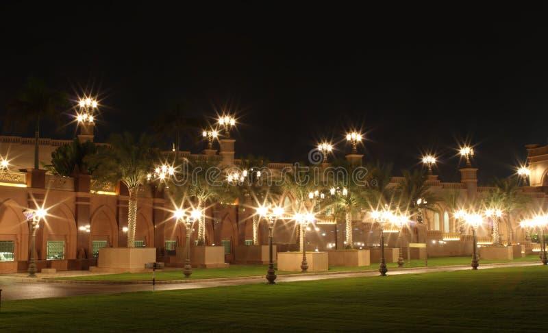 Emirat-Palastgarten. Abu Dhabi stockfotografie