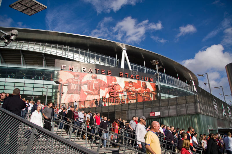 Download Emirates Stadium editorial photo. Image of league, fans - 17169766