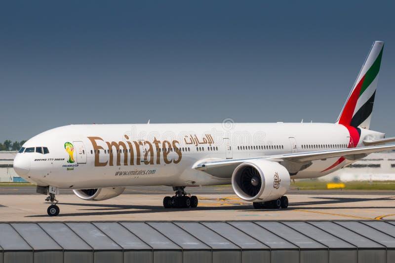 emirates fotografia stock