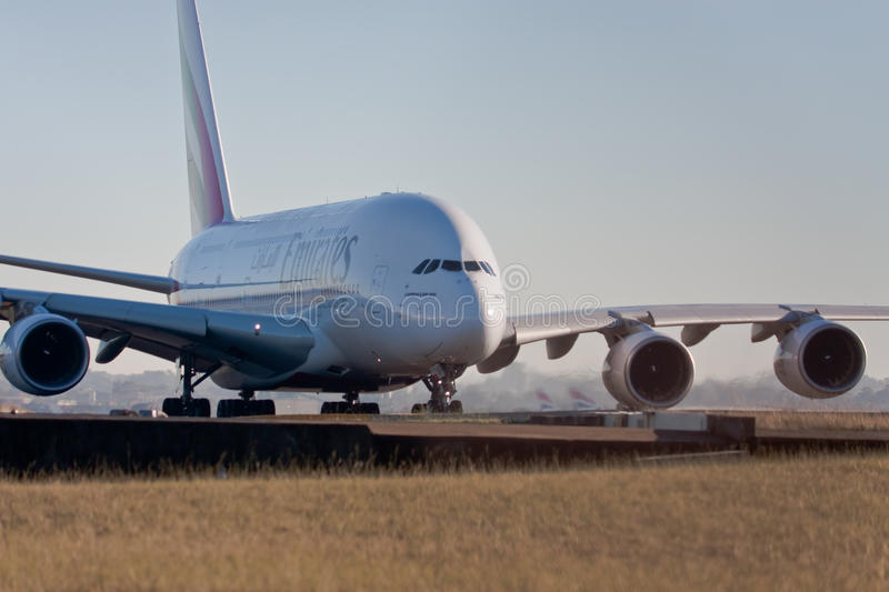 Download Emirates Airlines A380 On The Runway Editorial Stock Photo - Image: 10286158