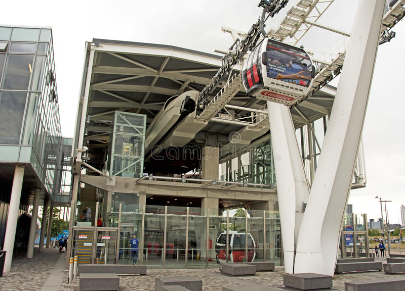 Emirates Cable Car royalty free stock photo
