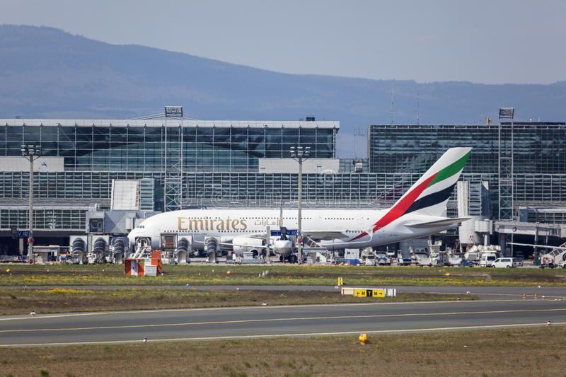 Emirates Terminal Frankfurt