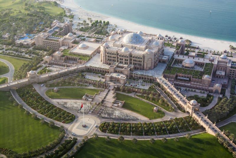 Emirates Palace. Hotel in Abu Dhabi, UAE, United Arab Emirates royalty free stock photo