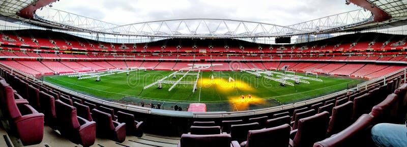 Emirates Stadium arkivfoto