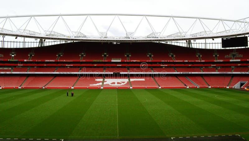 Emirates Stadium London lizenzfreie stockfotos