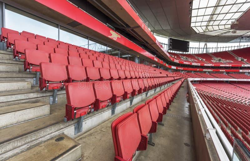 The Emirates stadium royalty free stock photos