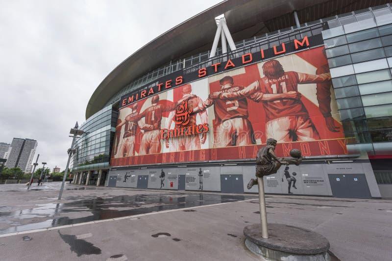 The Emirates stadium stock images
