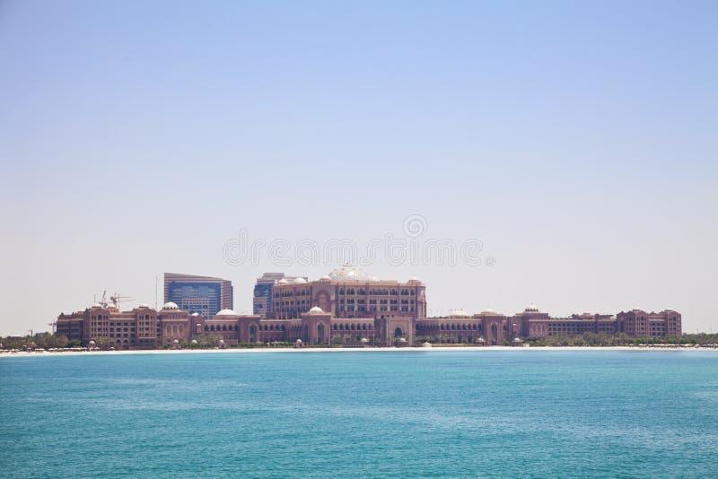 Emiratos palacio, Abu Dhabi, UAE fotos de archivo libres de regalías