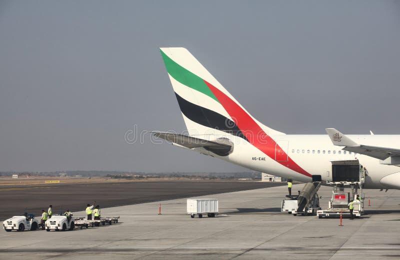 Emirats Airbus 330 photo stock